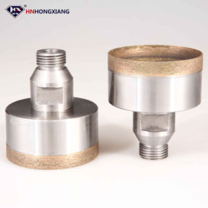 """1/2"""" Gas Sintered Diamond Hole Saw for Glass Drilling pictures & photos"""