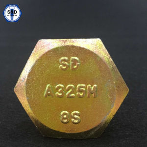Hex Structural Bolts A325m 8s Zinc Yellow pictures & photos