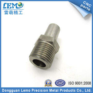 Precision CNC Stainless Steel Connector Parts (LM-0706U) pictures & photos