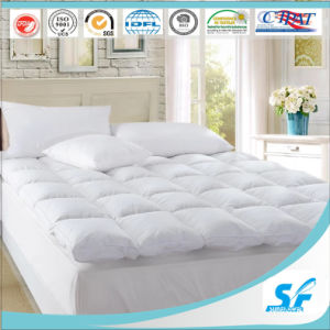 Hotel Goose Down Feather Mattress Pad/Topper pictures & photos