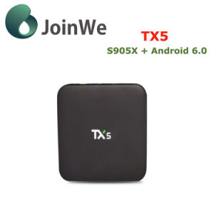 Smart Ott TV Box Tx5 Google Android 6.0 TV Box pictures & photos