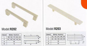 R202 Colorful Hardware Cupboard Handle pictures & photos