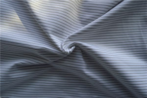 Stretch Poly Single Jersey with Silver Coated Nylon Yarn