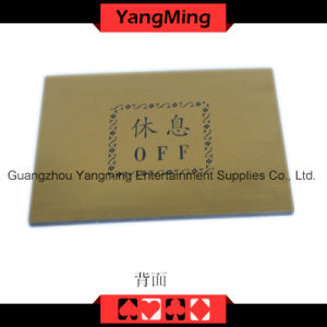High - Grade Pure Copper Entertainment Bet Card (YM-LC04) pictures & photos