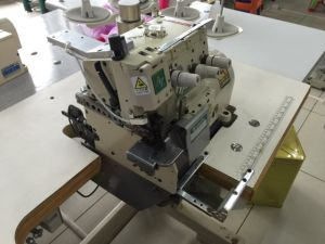 Used Yamato Overlock Zigzag Joint Seam Sewing Machine (AZ8480-04DF) pictures & photos