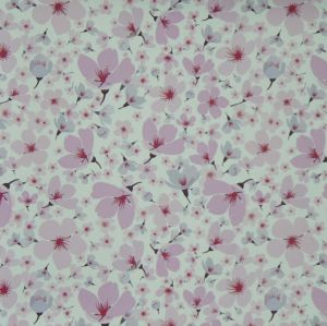 Oxford 600d High Density PVC/PU Flower Polyester Printing Fabric (KL-09) pictures & photos