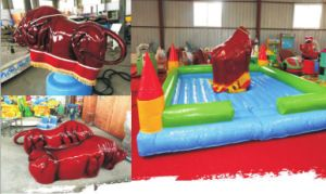 Outdoor/Indoor Kids Game Machine Bull Ride for Sale pictures & photos