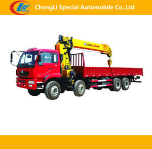 8X4 Sino Truck with Crane pictures & photos