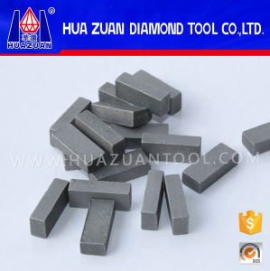 High Efficiency Marble Cutting Diamond Gangsaw Segment pictures & photos