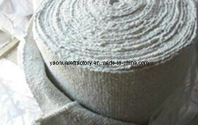 High Temperature Insulation Ceramic Fiber Cloth Textiles Ss Wire