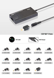 Slim Kfd 90W Universal Laptop AC Adapter for Asus, Lenovo