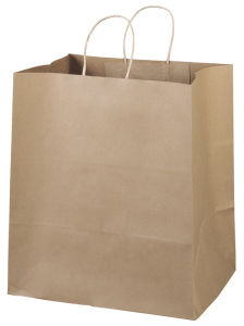 Kraft Paper Bag for Fast Food pictures & photos
