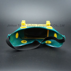 108X50mm View Size Weling Goggles with Dark Welding Glass (WG115) pictures & photos