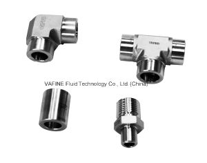 Hydraulic Stainless Steel Tee Weld Fittings pictures & photos