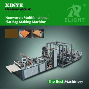 Xy Non Woven Multifuctional Flat Bag Making Machine pictures & photos