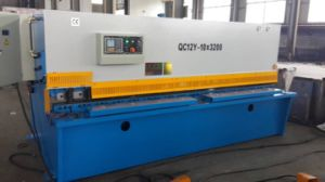 Hydraulic Shearing Machine QC12y-10X3200 Manufacturer Good Quality pictures & photos