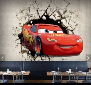 Cars-Plex Kids/Children Room Wallpaper Mural pictures & photos