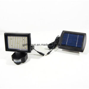 99LED PIR Sensor Spotlight with Armphous Solar Powered for Outdoor pictures & photos