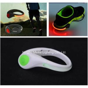 2red LED Outdoor Sport Safe Flashing Shoe Warning Light (MK-4526)