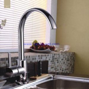 Best Sale Single Lever Kitchen Mixer (F-8105) pictures & photos