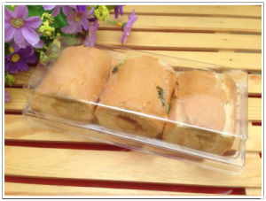 wholesale clear plastic PP/PET bread/cake box (food packing box) pictures & photos