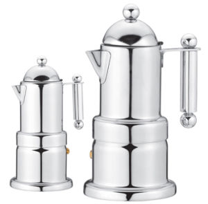 Stainless Steel Electric Moka Coffee Maker pictures & photos