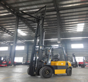Gasoline/ LPG Double Use Forklift with German Technique pictures & photos