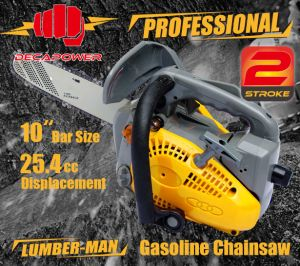 Ce Approved Garden Tool 25.4cc Cheap Gasoline Chainsaw (CS-2500)