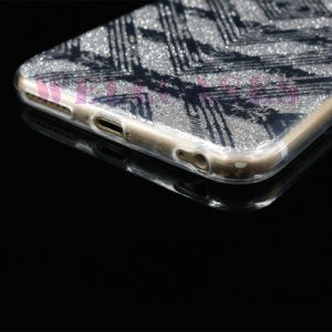 New IMD 3D Painting Gliter Powder TPU Cellphone Case for iPhone 5/6/6p pictures & photos