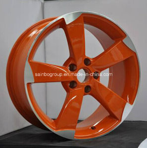Matt Black Red Line Car Aluminum Alloy Wheels for Audi pictures & photos