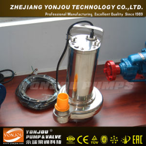 Sewage Submersible Water Pump, Non-Clogging Centrifugal Submersible Pump pictures & photos