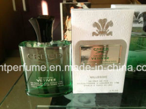 Hand Polished Glass Perfume Bottle with Inside Colored pictures & photos