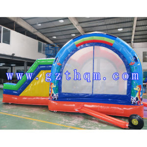 Inflatable Jumping Bed for Children/Inflatable Castle Bouncer pictures & photos