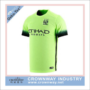 Quick Dry Polyester Soccer Jersey with Sublimation Printing pictures & photos