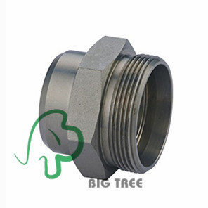 Male Weld Fitting Hydraulic Pipe Adapter pictures & photos