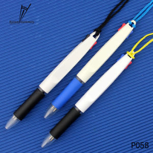 Factory Promotion Plastic 2 in 1 Color Ink Gift Pen pictures & photos