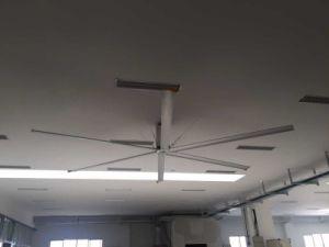Siemens, Omron Transducer Control Gymnasium Use 7.4m (24FT) AC Industrial Fan