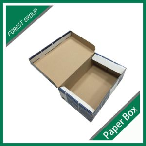 2016 Cutom Color Printing Corrugated Shoe Box with Logo pictures & photos