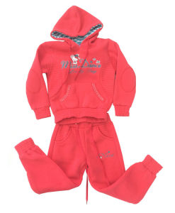 Fashion Girl Fleece Suit in Children Clothing Sport Wear (SWG-120) pictures & photos