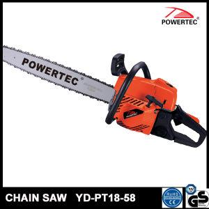 Powertec CE GS 58cc Wood Gasoline Chain Saw (YD-PT18-58) pictures & photos