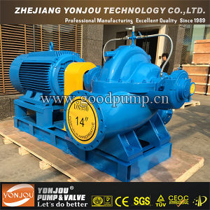 S/Sh Series Double Suction Centrifugal Water Pump for Irrigation Firefighting Use pictures & photos