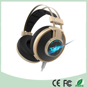 Promotional 50mm Noice Cancelling Stereo Wired LED Gaming Headset (K-919) pictures & photos