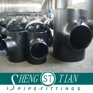 Carbon Steel Buttweld Pipe Fitting Tee pictures & photos