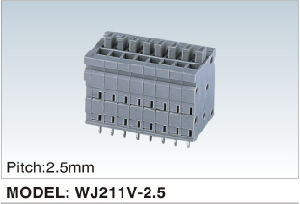New Developing Mcs Terminal Block (WJ211V-2.5mm) pictures & photos