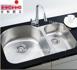 Cupc Recognized Under Mount Stainless Steel Kitchen Sink (9553AL) pictures & photos
