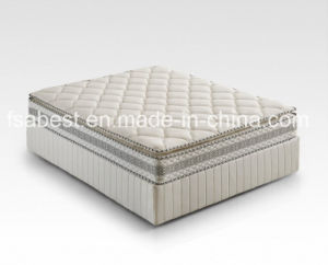 Knitted Fabric 100% Natural Latex Mattress ABS-1809 pictures & photos
