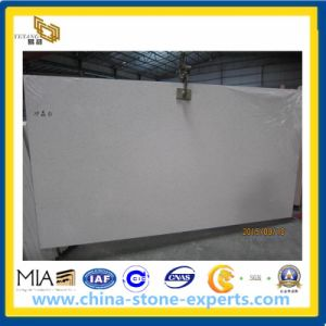 Crystal White Artificial Quartz Stone Slab for Kitchen Countertop pictures & photos