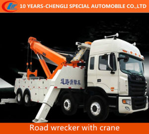 Two Combined Crane Road Wrecker for Emergency pictures & photos