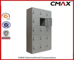 Steel Locker 15-Doors Locker Metal Dormitory Gym Wardrobe Cube Lockers Cmax-SL15-001 pictures & photos