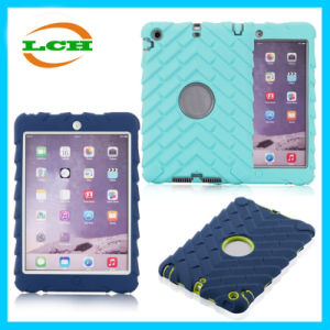 Rubber Three-Proof Silicon PC Armor Tablet Case for iPad pictures & photos